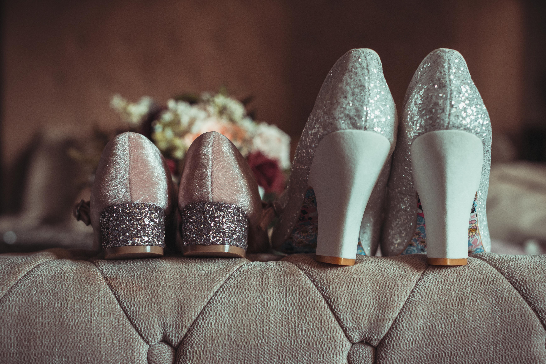 Balmoral Hotel, Belfast Wedding, wedding shoes